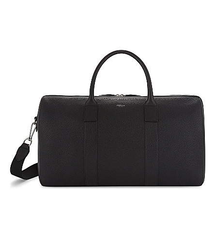 MULBERRY Reston leather holdall (Black