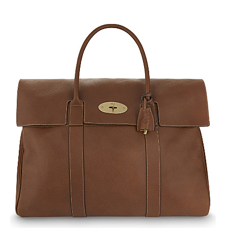 MULBERRY Piccadilly holdall (Oak