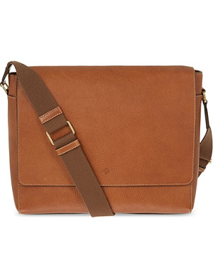 MULBERRY Maxwell classic grain leather messenger