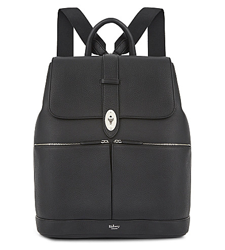 MULBERRY Reston leather backpack (Black