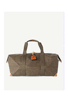 MULBERRY Scotchgrain medium clipper holdall