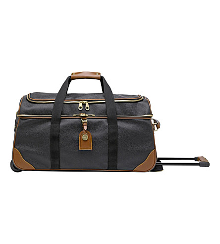 MULBERRY Albany duffel (Black-cognac