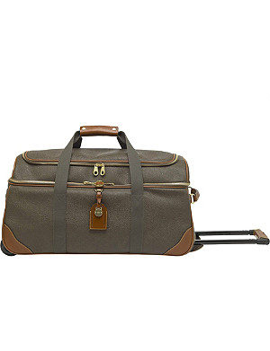 MULBERRY Scotchgrain duffel bag