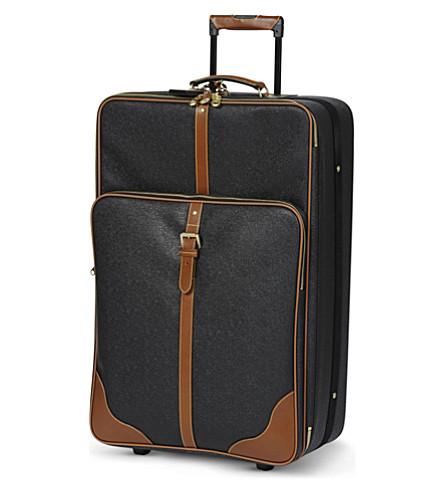 MULBERRY Large trolley (Black-cognac