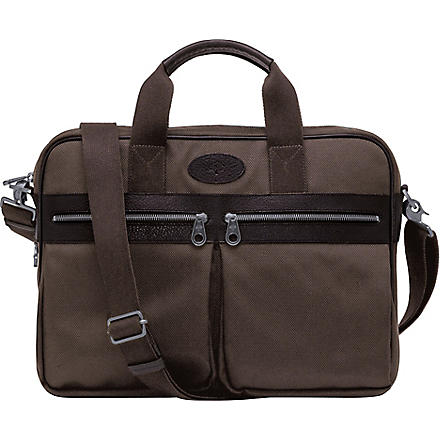 MULBERRY Henry laptop bag (Mole