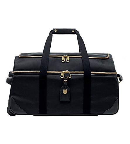 MULBERRY Henry wheeled duffel bag (Black