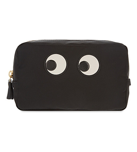 ANYA HINDMARCH Eye make-up pouch (Black