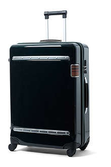 PAUL SMITH Steamer medium four-wheel suitcase 66cm