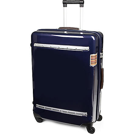 PAUL SMITH Steamer four-wheel suitcase 66cm (Navy
