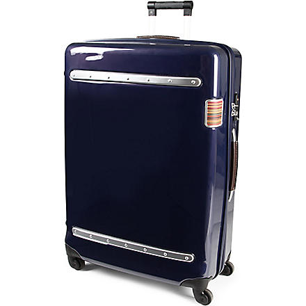 PAUL SMITH Steamer four-wheel suitcase 73cm (Navy