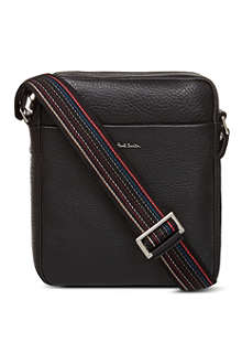 PAUL SMITH Grained leather bag
