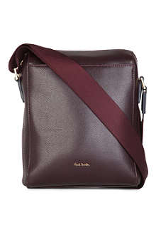 PAUL SMITH Pebble leather small cross-body bag