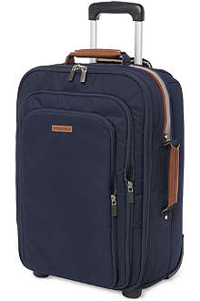 PAUL SMITH Concertina two-wheeled suitcase