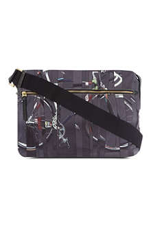 PAUL SMITH Nine bikes flight bag