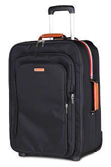 PAUL SMITH Concertina two-wheel suitcase 55cm