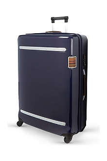 PAUL SMITH Four-wheel polycarbonite suitcase 80cm