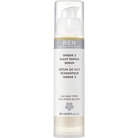 REN Omega 3 night repair serum 50ml