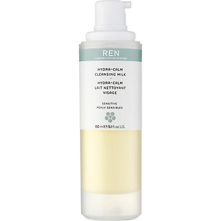 REN Calendula and Arctic Berry Ultracalm cleansing milk
