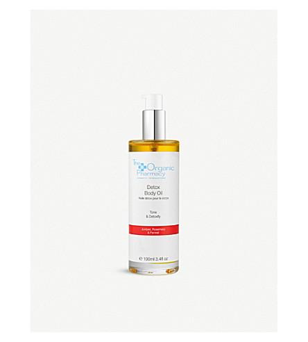 THE ORGANIC PHARMACY Detox Cellulite Body Oil 100ml