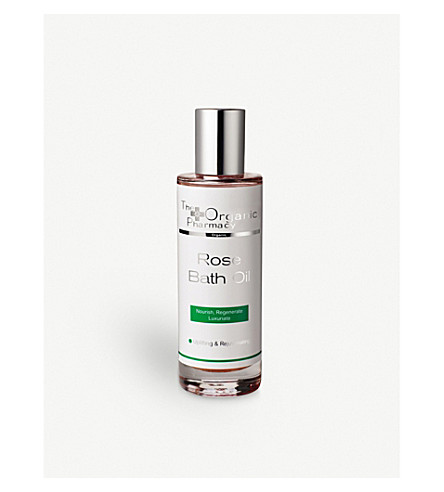 THE ORGANIC PHARMACY Rose bath oil 100ml
