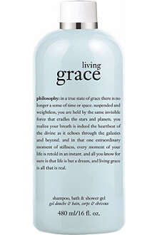 PHILOSOPHY Living Grace shower gel 480ml