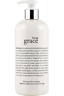 PHILOSOPHY Living Grace firming body emulsion 480ml