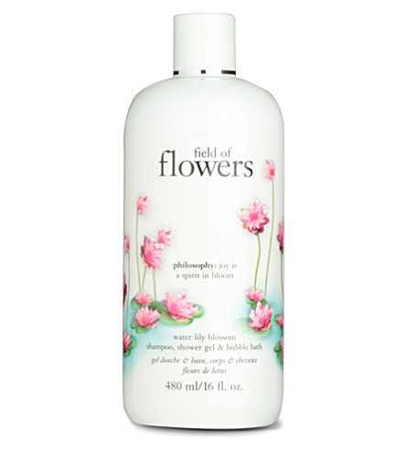 PHILOSOPHY Field of Flowers Waterlily Blossom shampoo, shower gel & bubble bath 480ml