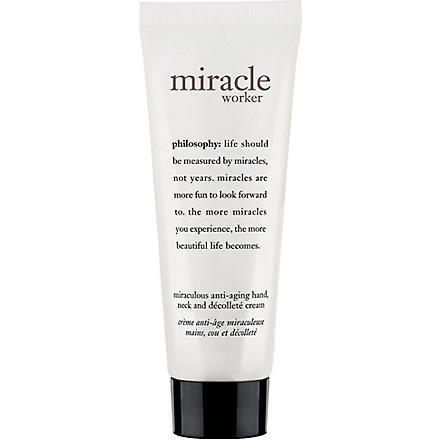 PHILOSOPHY Miracle Worker anti-ageing hand, neck and décolleté 60ml
