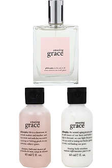 PHILOSOPHY Amazing Grace fragrance layering set