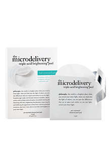 PHILOSOPHY Microdelivery Triple-Acid Brightening Peel Pads