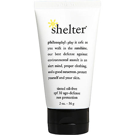 PHILOSOPHY Shelter sunscreen SPF 30