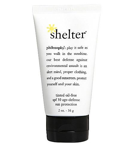 PHILOSOPHY Shelter sunscreen SPF 30