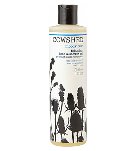 COWSHED Cowshed Moody Cow Balancing Bath & Shower Gel 300ml