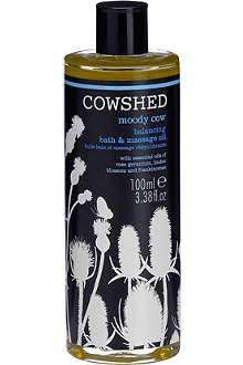 COWSHED Moody Cow balancing bath and body oil 100ml