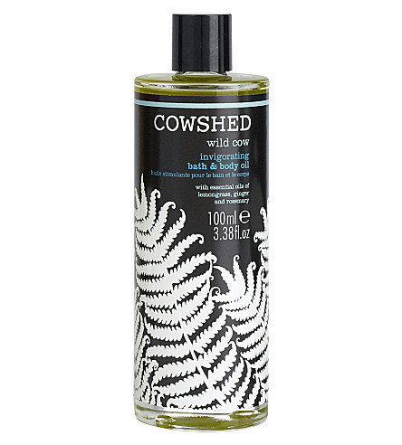 COWSHED Wild Cow invigorating bath & body oil 100ml