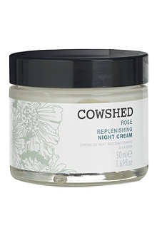 COWSHED Rose replenishing night cream 50ml