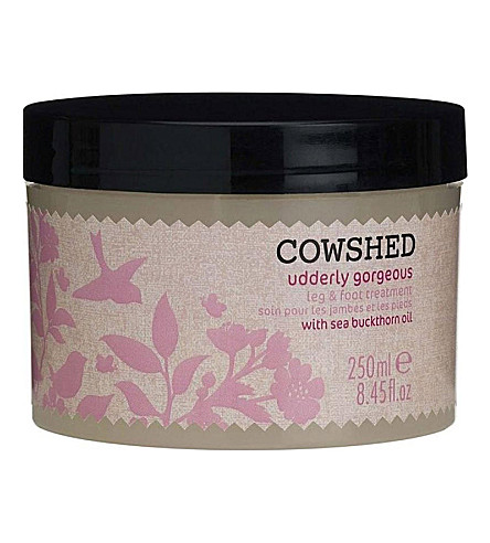 COWSHED Udderly Gorgeous cooling leg and foot treatment 250ml