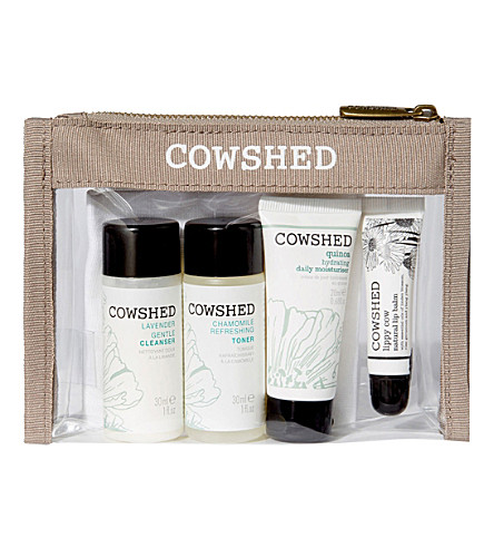 COWSHED Skincare starter kit