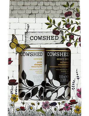 COWSHED Swish and Go haircare set