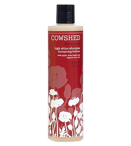 COWSHED Horny Cow high shine shampoo 300ml