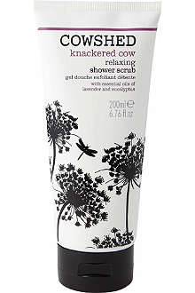 COWSHED Knackered Cow relaxing shower scrub 200ml