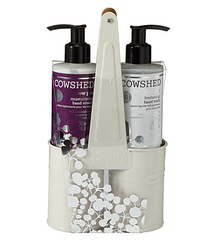 COWSHED Festive handcare caddy