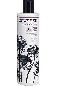 COWSHED Knackered Cow relaxing body lotion 300ml