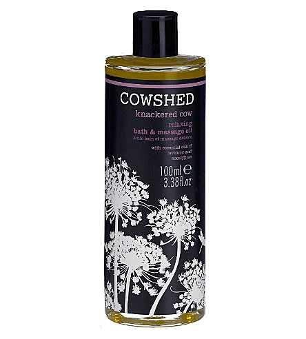COWSHED Knackered Cow relaxing bath and body oil 100ml