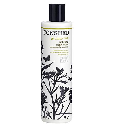 COWSHED 脾气暴躁的母牛向上身体乳液300毫升
