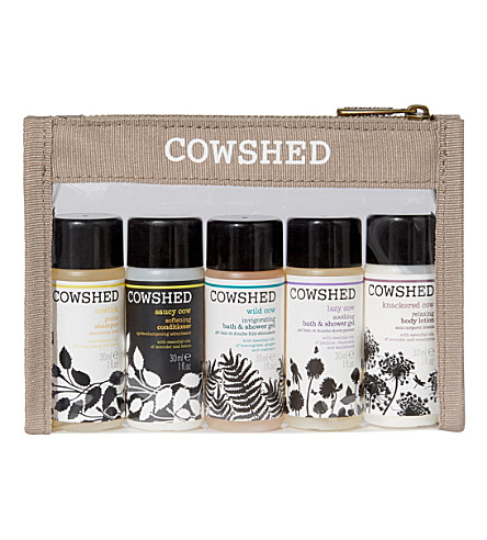 COWSHED Pocket Cow bath & body set