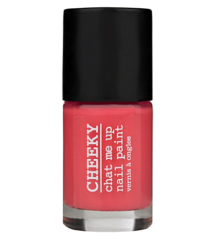 CHEEKY Chat Me Up nail polish (Flamin-go