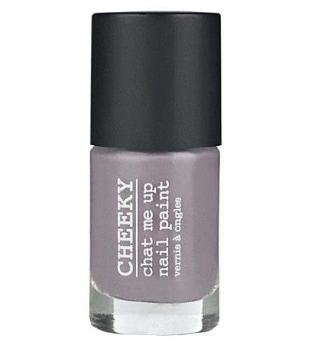 CHEEKY Chat Me Up nail varnish (Purple haze