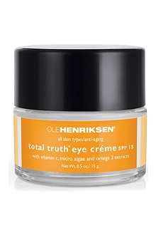 OLE HENRIKSEN Total truth™ eye crème 15g