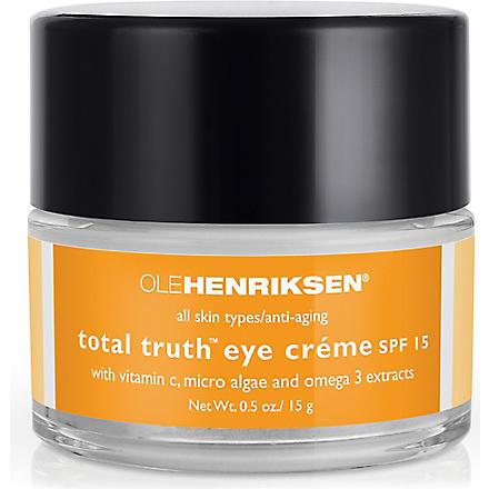 OLE HENRIKSEN Total truth™ eye crème 15g